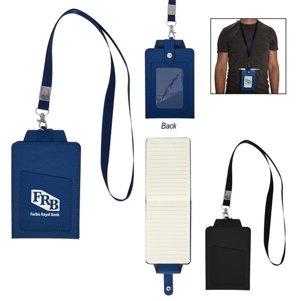 Notable Notepad Badge Holder