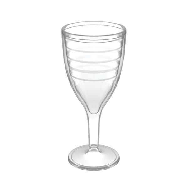 Double Wall Wine Goblet