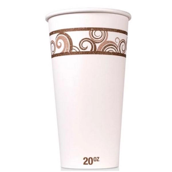 20 oz Disposable Paper Hot Cup