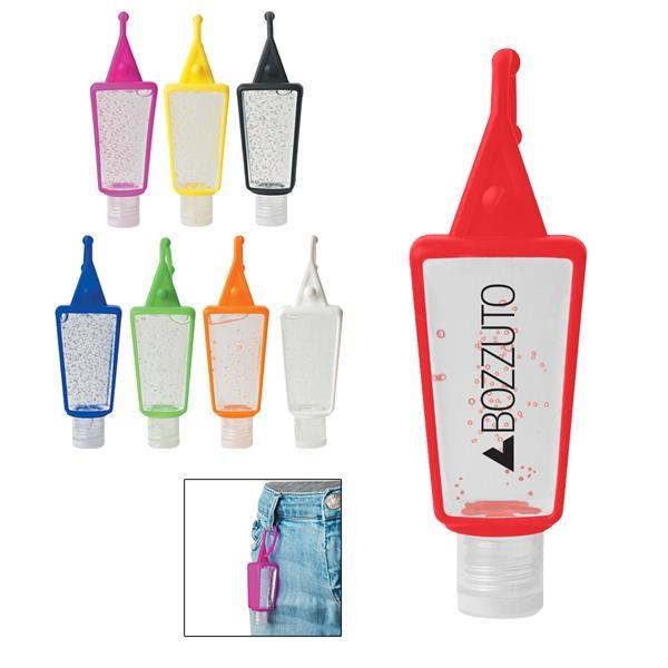1 oz. Hand Sanitizer in Silicone Holder