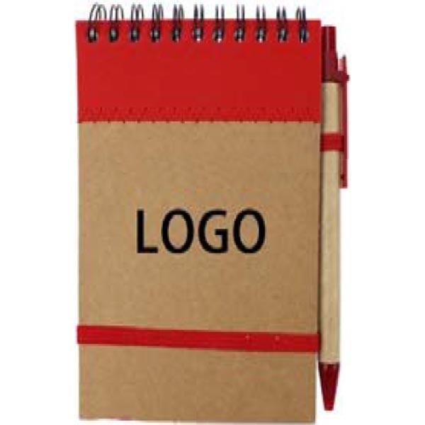 Spiral Kraft Notepad