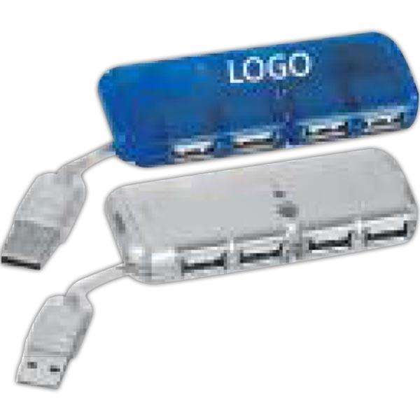 Mini USB 4-Port Hub