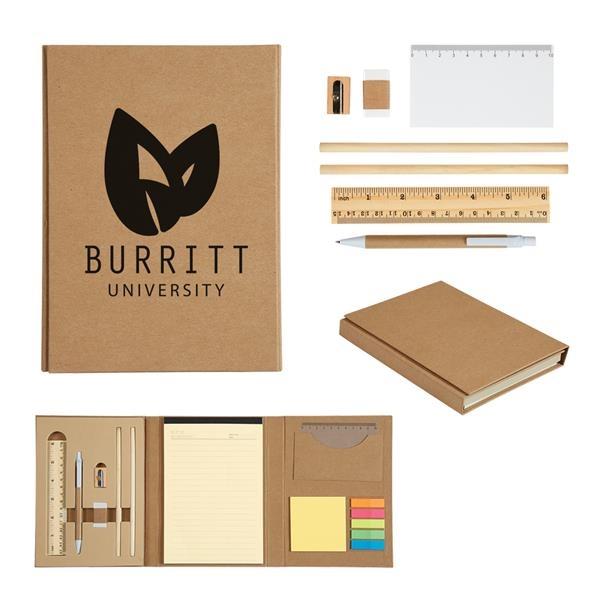 Eco-Inspired Tri-Fold Stationary Gift Set
