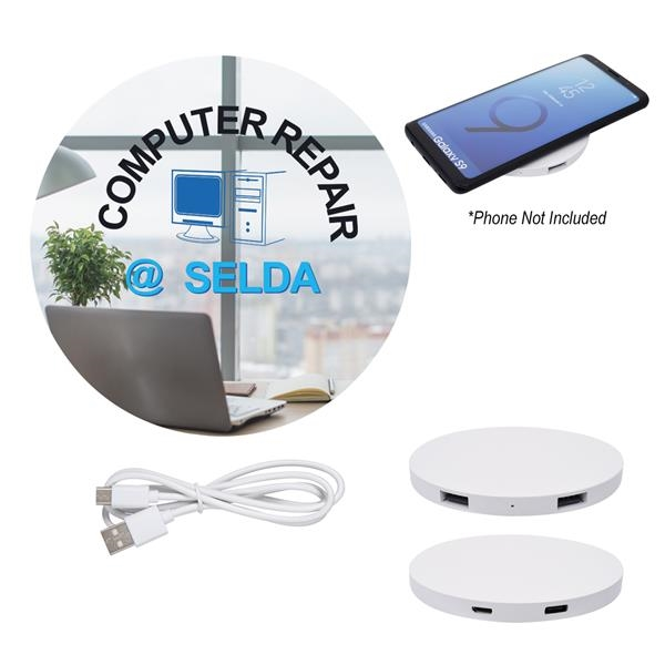Power Balance Wireless Charging Pad USB Hub