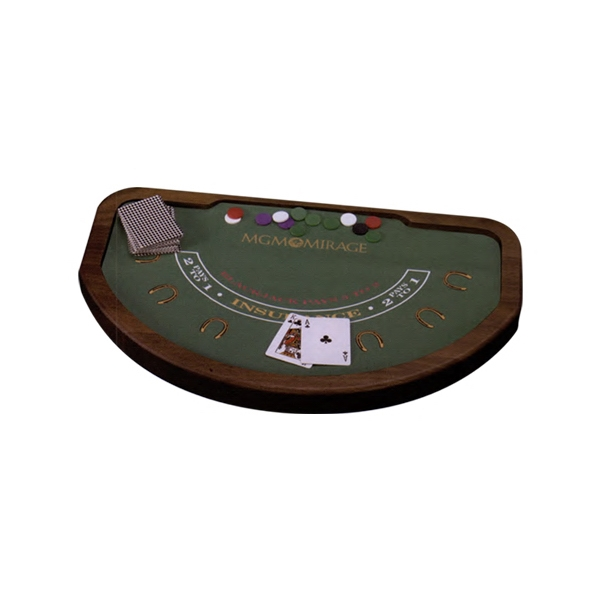 Miniature Blackjack Game Table Photo