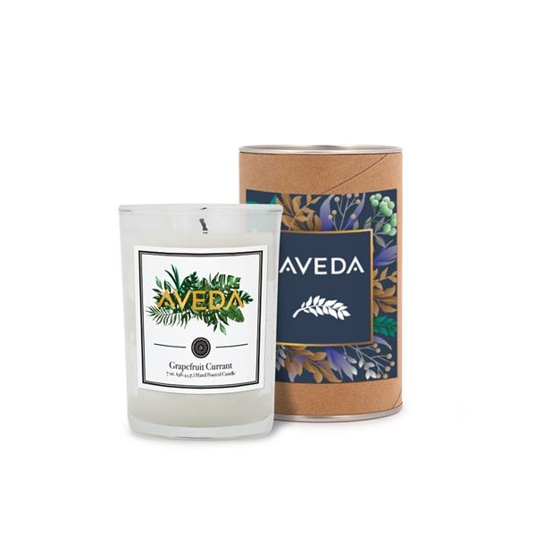 8 oz. Scented Tumbler Candle in a Cardboard Gift Tube