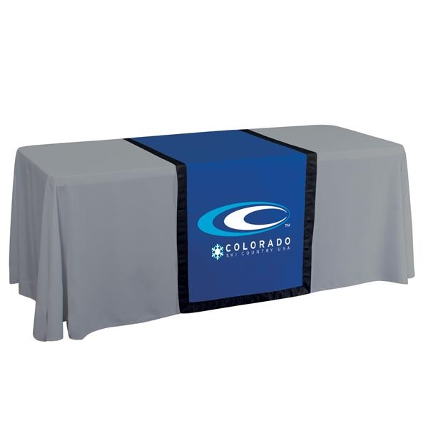 """28"""" Accent Table Runner (Full-Color Front Only)"""