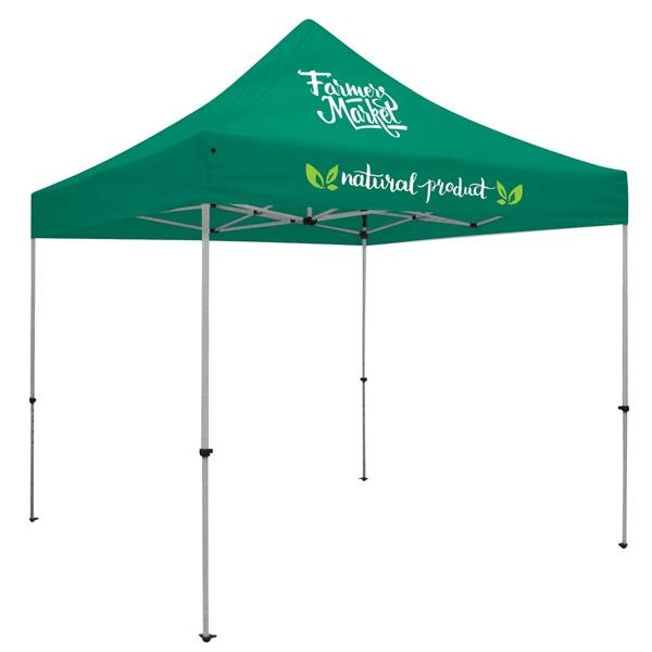 Deluxe 10' Tent Kit (Full-Color Imprint, 2 Locations)