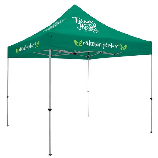 Deluxe 10' Tent Kit (Full-Color Imprint, 7 Locations)