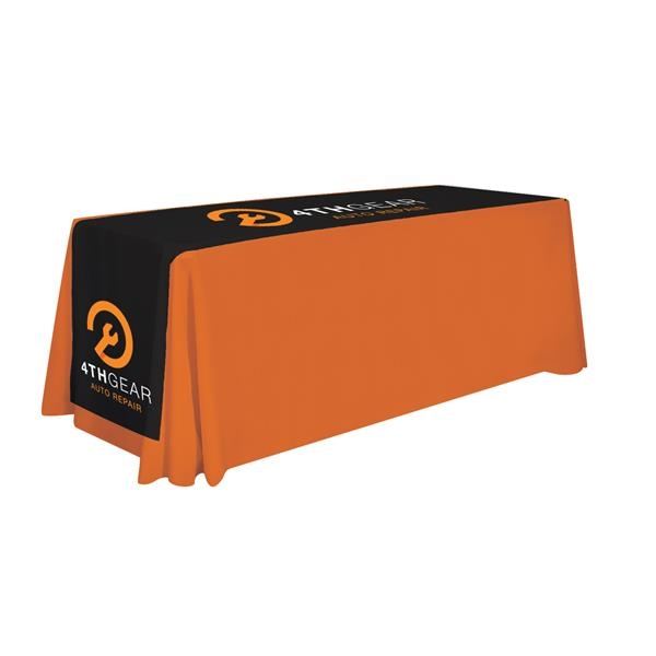 """125"""" Lateral Table Runner (Imprinted Top and Sides)"""