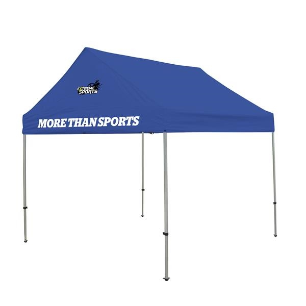 10' Premium Gable Tent Kit  2 Location Full-Color Imprint