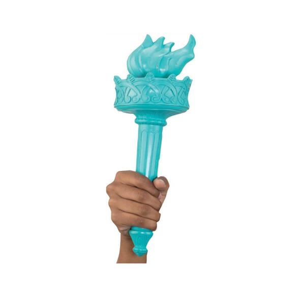 STATUE OF LIBERTY TORCH (RUBBER)
