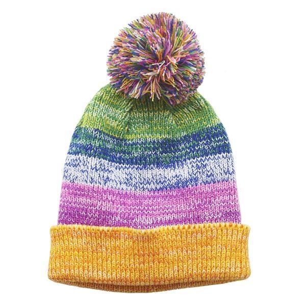 Sprinkles Pop Pom Beanie Hat