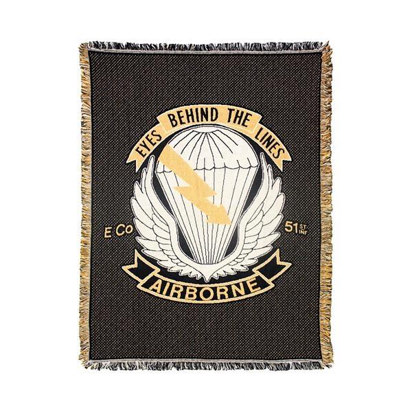 Custom 2 1/2-Layer Throw Blanket, size M