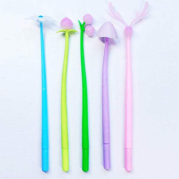 Sun color changing silicone neutral pen