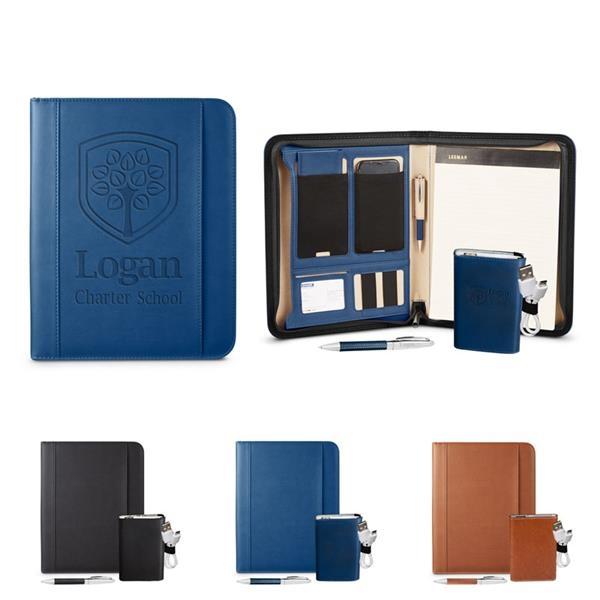 Tuscany™ Mobile Portfolio Power Bank & Pen Set