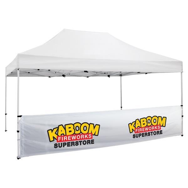 Premium 15' Tent Half Wall Kit (Full-Color Imprint)