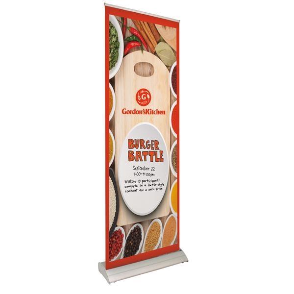 """33.5"""" Deluxe Pro Retractor 1-Banner Kit (Dry-Erase Media)"""