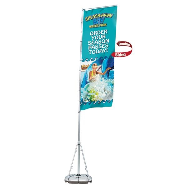 Giant Outdoor Flag Kit (Double-Sided)
