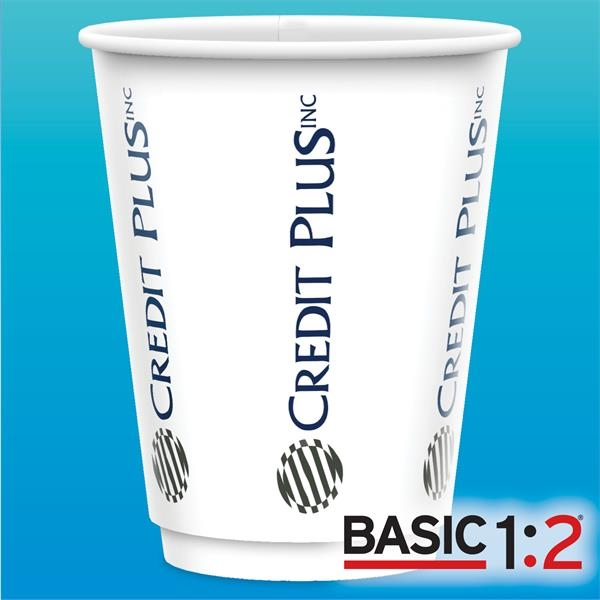 12 oz Vx2 Double Wall Paper Cup - BASIC 1:2™