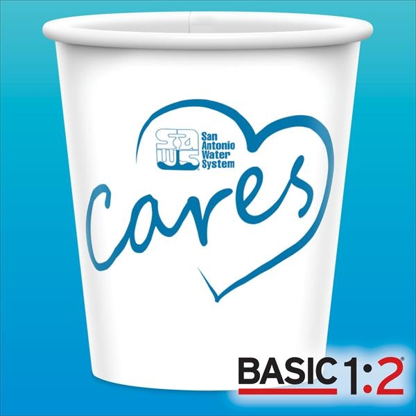 BASIC 1:2™-9oz-Heavy Duty Paper Cold Cups