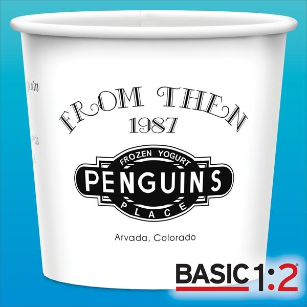 BASIC 1:2™- 12oz-Heavy Duty Paper Cold Containers