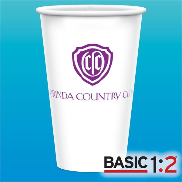 BASIC 1:2® 16oz-Heavy Duty Paper Cold Cups