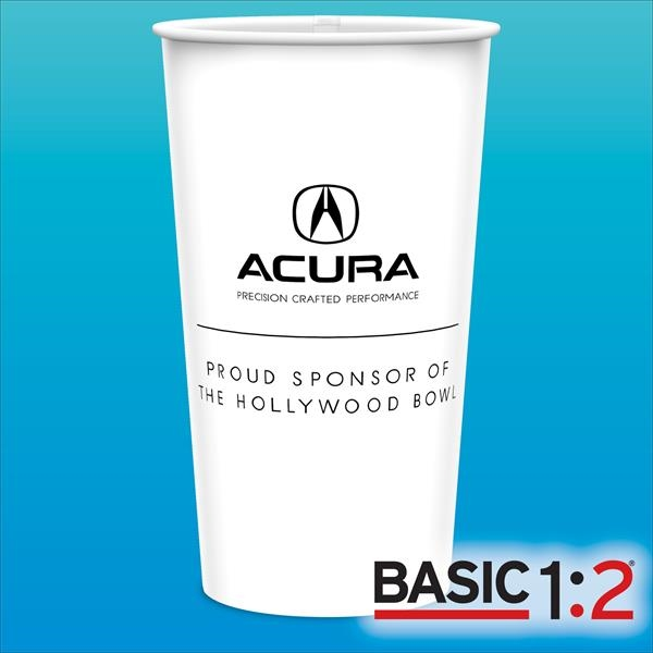 BASIC 1:2™-44oz-Heavy Duty Paper Cold Cups