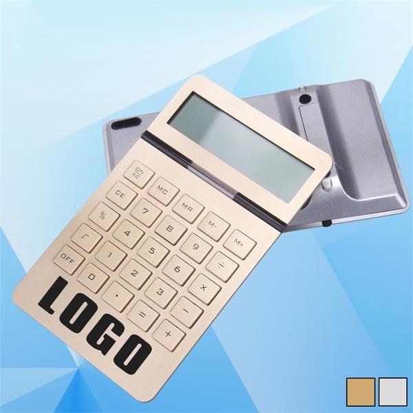 Dual-Power 10-Digit Desk Calculator