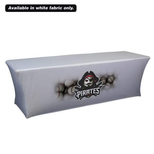 8' UltraFit Curve Throw (Full-Color Front Only)
