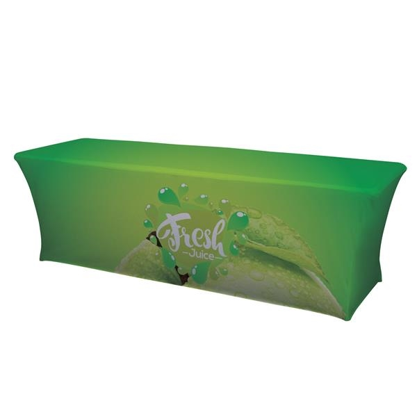 8' UltraFit Curve Table Throw (Full-Color Full Bleed)