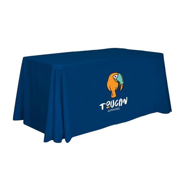 Economy Throw 4' Full-Color Front Only