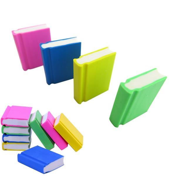 Book Shape Rubber Eraser