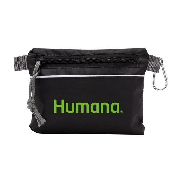 """Premium First Aid Kit In A 7.5"""" W X 5.5"""" H Zippered Pouch"""