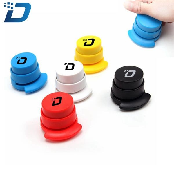 Eco-friendly Round Mini Stapler without Staple