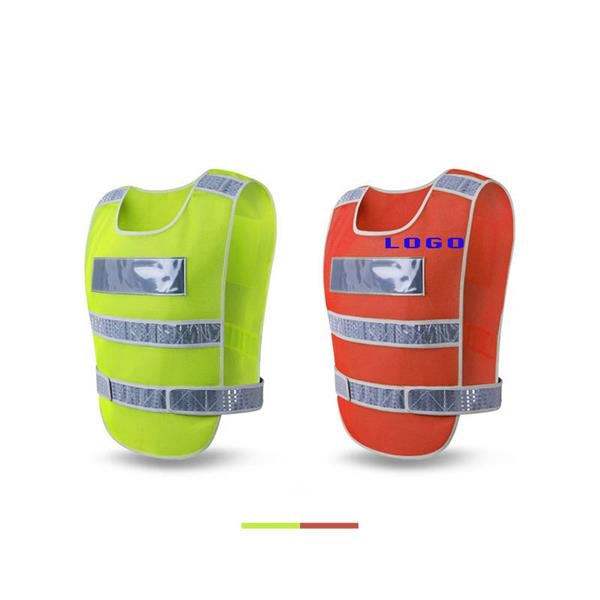 Breathable Mesh Reflective Vest Running Gear