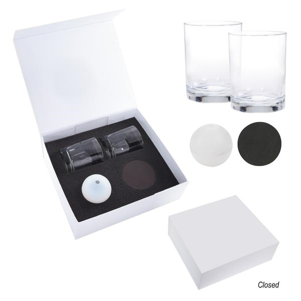 Ice-Sphere Whiskey Kit