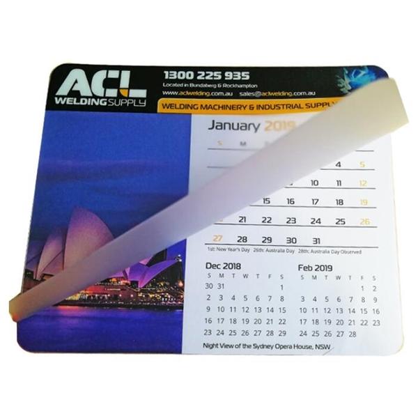 Desk Calendar Pad