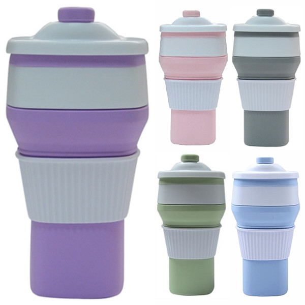 10oz Travel Silicone Coffee Cup