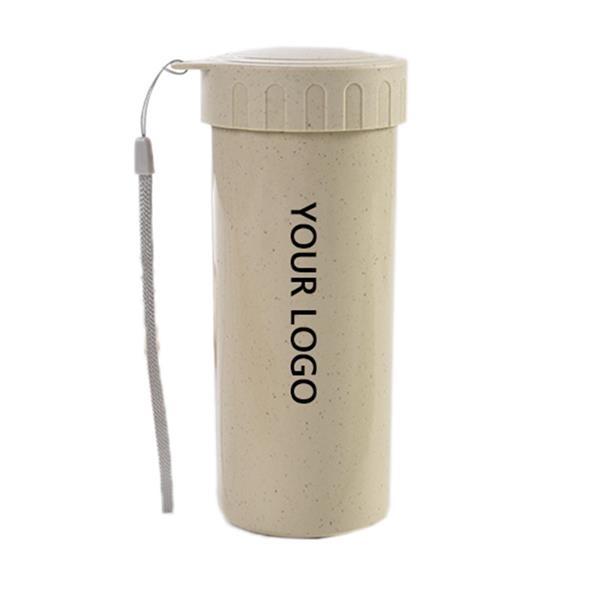 14.5 oz Wheat Straw Water Bottle