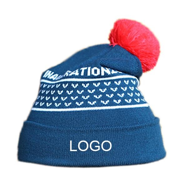 Knit warm beanie hats