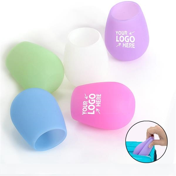 12 oz Stemless Silicone Wine Cup