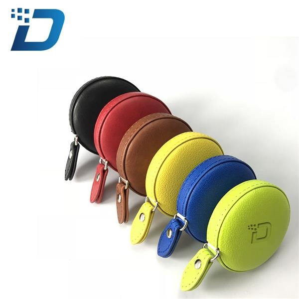 PU Leather Round Tape Measure