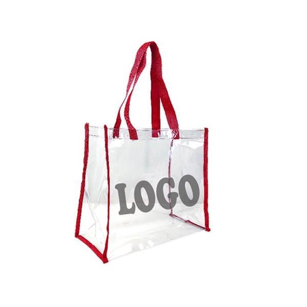 Transparent PVC Tote Bag