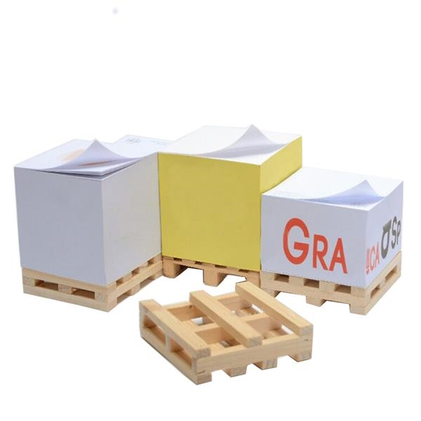 Cube Adhesive Note With Pallet