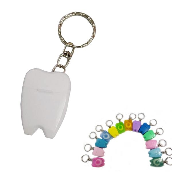 Dental Floss Keyring