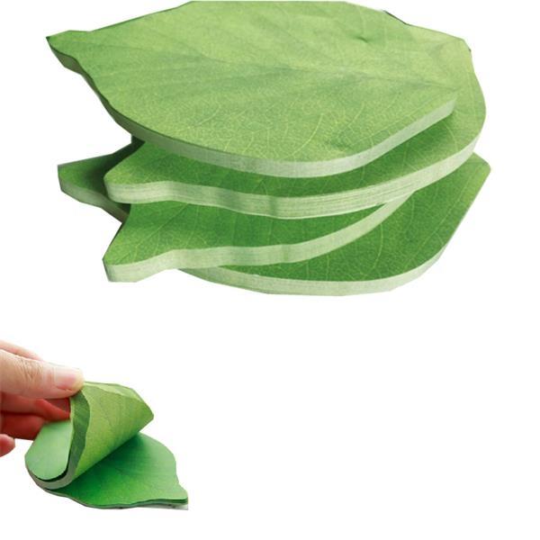 Leaf Shape Post-it Notes