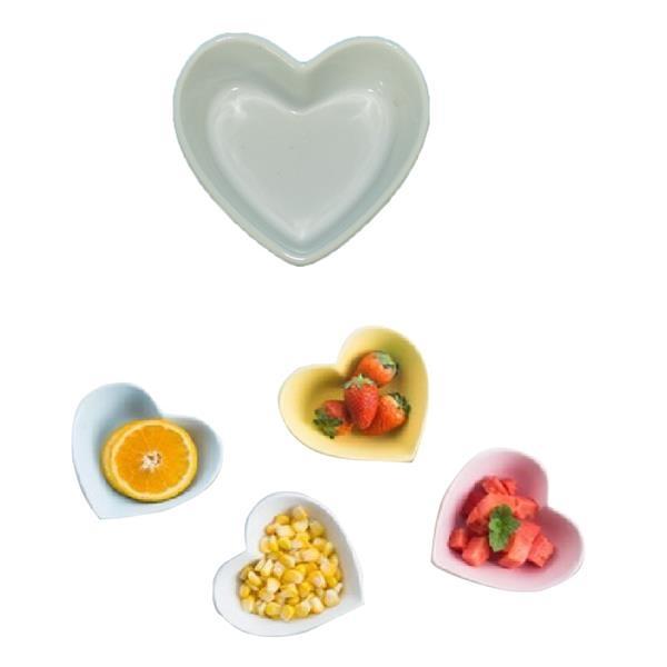 Colorful Heart Shape Bowl