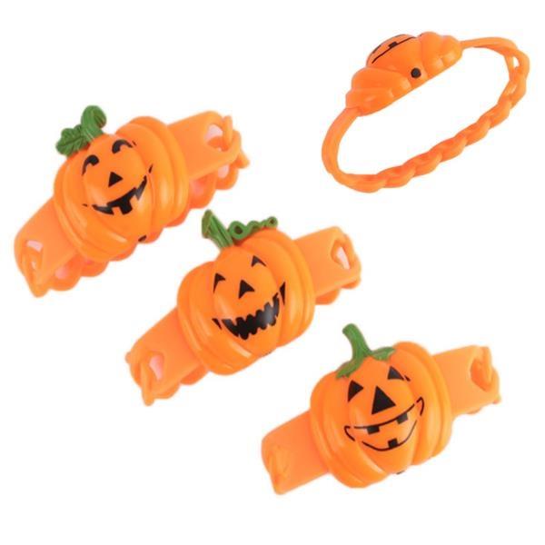 Pumpkin LED Wristband