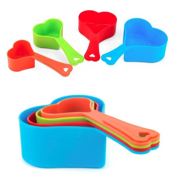 Heart Shaped Measuring Cup